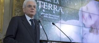 """Il Presidente Sergio Mattarella nel corso della celebrazione della Giornata Intenazionale della Donna dedicata al tema """"Donne per la Terra"""""""
